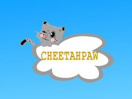 Cheetahpaw on a cloud by CandyPurpleCat