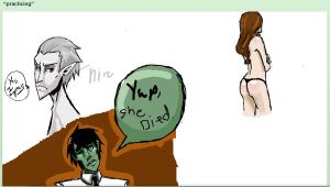 iScribble doodles by Automb