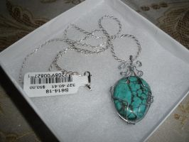 Turquoise pendant by EndorphinsNYC
