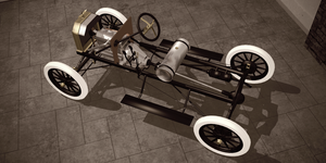 Ford Model T chassis by Samsky1948