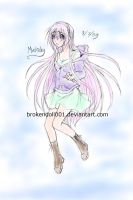 Floating Mia by BrokenDoll001