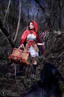 Little Red Riding Hood by Markvelasquez
