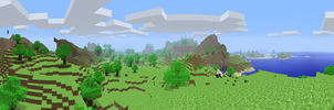 Minecraft Alpha Panorama by LockRikard