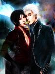 Thank You - RE6 Ada and DMC3 Vergil by Kunoichi1111
