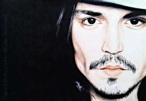 Johnny Depp by Naichingeeru