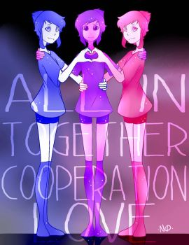 All In ~ Together by nattycakes99
