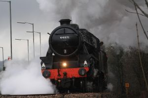 The LMS Stanier Class 5 by CJSutcliffe