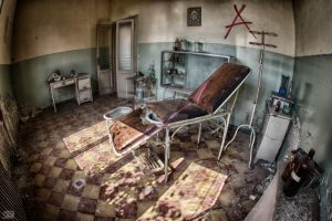 doctors room II by FatmeBondage