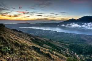 Mount Batur HDR by SantiBilly
