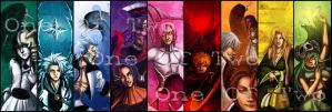 A rainbow of Bleach - Bookmark by oneoftwo