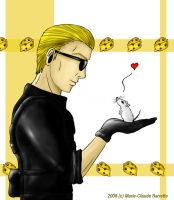 Wesker x DIJ by Sheenah