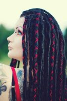Wrapped Dreads by Dahlia-Dubh