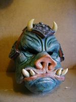 Gamorrean latex mask by lionback