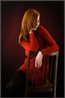 Lady in Red by platen