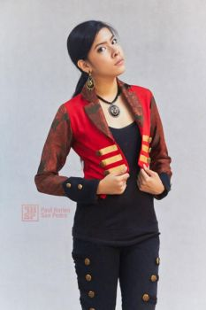 Design by Margie #1 (Red Vest) by pol-aris