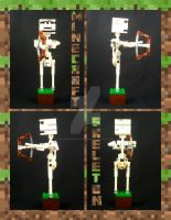 Bionicle MOC: Minecraft Skeleton by Mana-Ramp-Matoran