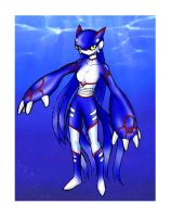 Anthro Kyogre by slifertheskydragon