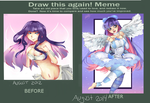 Draw this again meme by ColorSwatch