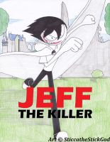 Jeff the Killer Game Cover by SticcatheStickGod
