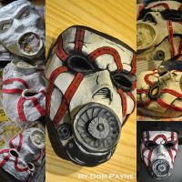 Borderlands: Psycho mask by SirDomPayne