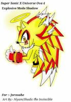 Explosive Mode Shadow The Hedgehog by Shadic68