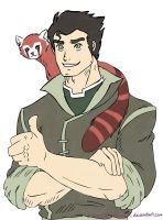 Avatar-LoK: Bolin and Pabu by CutieDuTieFlyy54