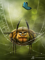 Daily Painting #858. Spidur by Cryptid-Creations