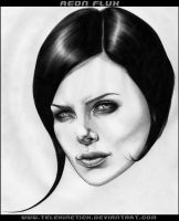 Aeon Flux by telekinetick