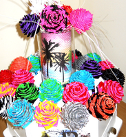 Single Duct Tape Roses by LypticDesigns
