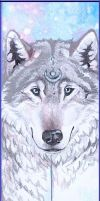 northern light bookmark by Hollow-Moon-Art