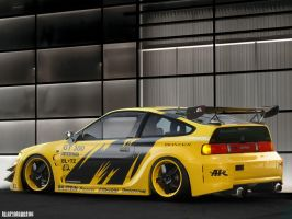 Honda CRX by Center68