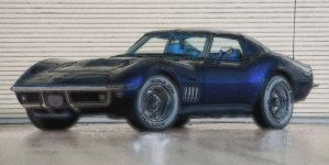 69 Corvette Stingray 427 Coupe by RHuggs