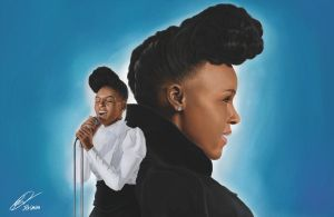 Janelle Monae by fat-jedgfx