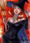 Hallowe'en Sketch Card - Irma Ahmed 1 by Pernastudios