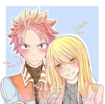 Nalu Fanart - SMILE by chiire