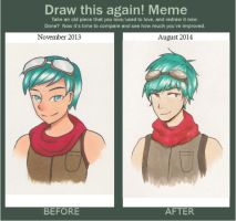 Draw This Again Meme by tori96