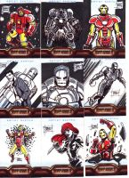 IronMan 2 Sketch Cards 1 by OptimusPraino