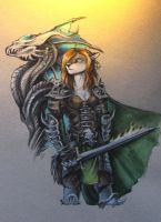 The warrior. by Bazted