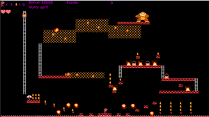 Game: Donkey Kong PC by waluigisrevenge