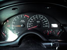120 Speedometer by ksouth