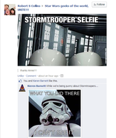 Meanwhile, On a Star Wars FaceBook Page... by DRAGONLOVER101040