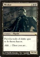 magic card wesker request by Claw333Ayane