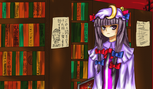 Touhou Project: Patchouli Knowledge by CryogenicCereal