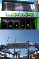 EPCOT: Innoventions signs by wilterdrose-stock