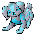 Blue Puppy Adoptable by Devil0532