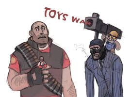Toy war by Kethavel
