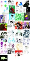 Doodles and scraps Homestuck fanarts by leia