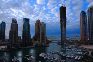 Dubai Marina new look by vinayan