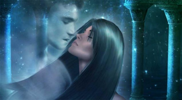 Kiss Me in the Moonlight by SilverC
