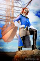 Captain Amelia - Someone needs a ship? by Eressea-sama